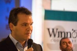 Marc Zornes speaking at FutureFoodTech