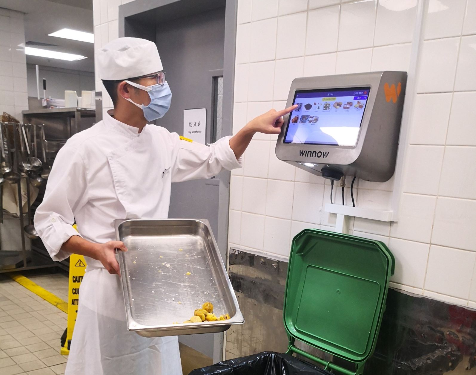 Melco have reduced food waste by over 50% with Winnow Vision
