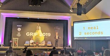Philip Verey speaking at GRIG 2019