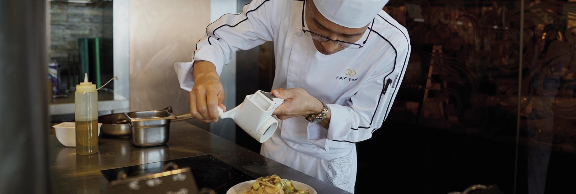 Sofitel kunming cut food waste in half