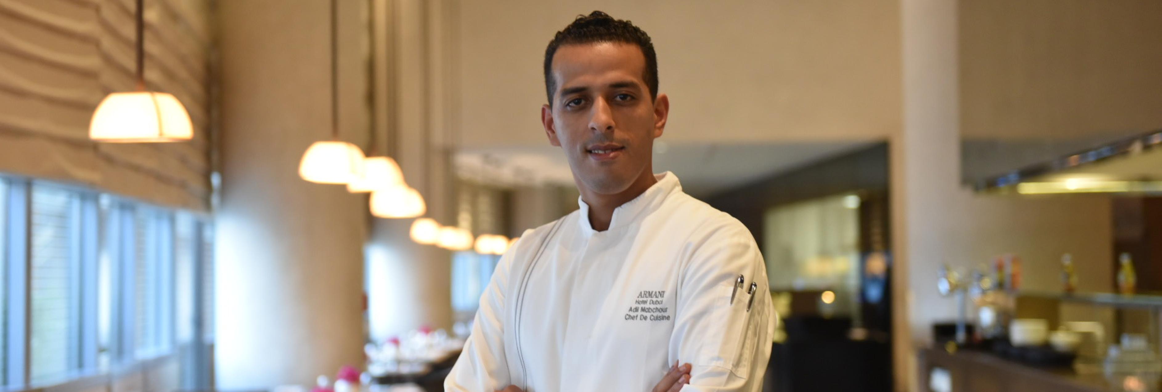 Adil Mabchour Chef de Cuisine at Armani Hotel Dubai