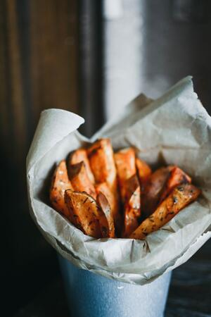 Pumpkin fries