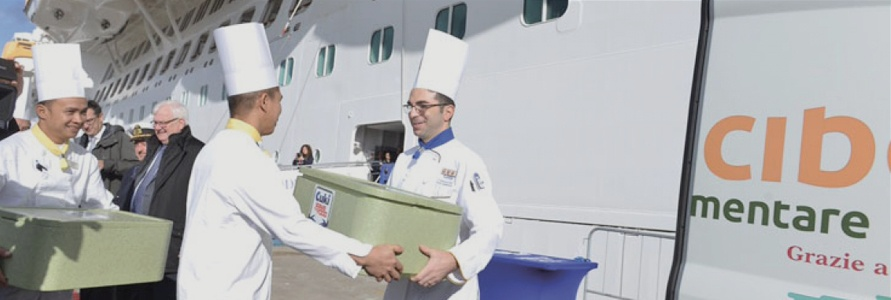 Costa Cruises and Banco Alimentare working together in the fight against food waste