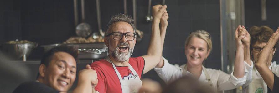 Massimo Bottura brings community kitchento create meals fromsurplus foodto London