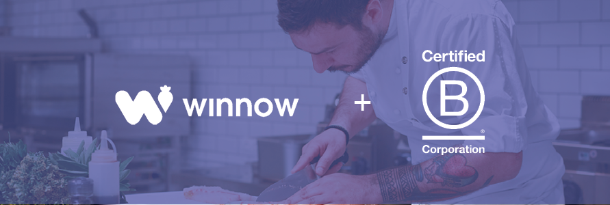 Winnow proud to join B Corp community in #redefiningbusiness campaign